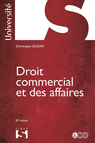 9782247111725: Droit commercial et des affaires - 20e éd.: Université