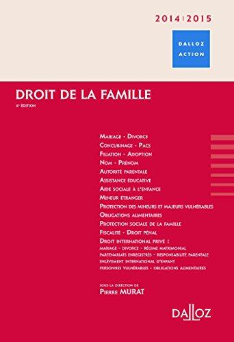 9782247114764: Droit de la famille 2014/2015 - 6e éd.