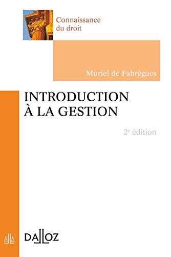 9782247120475: introduction a la gestion - 2e edition