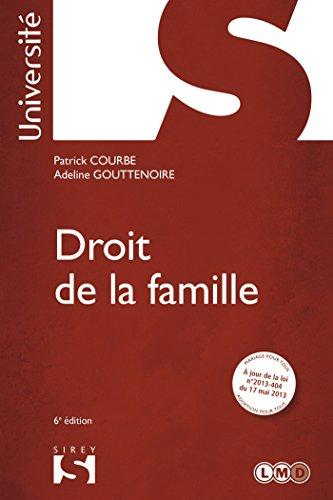 9782247121939: Droit de la famille - 6e éd.: Université