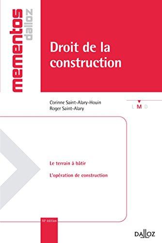 9782247124329: Droit de la construction - 10e éd.: Mémentos