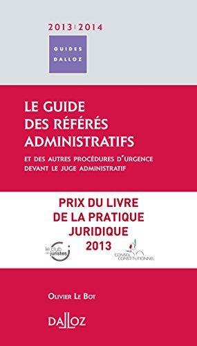 9782247125227: Guide des référés administratifs 2013/2014