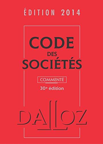 Code des sociétés 2014: Valuet, Jean-Paul, Lienhard,