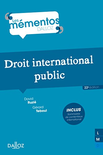 9782247129959: Droit international public - 22e �d.