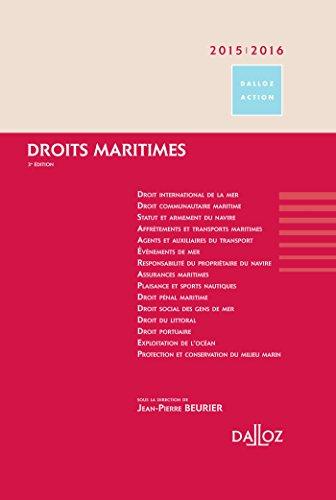 9782247134717: Droits maritimes 2015/2016 - 3e éd.
