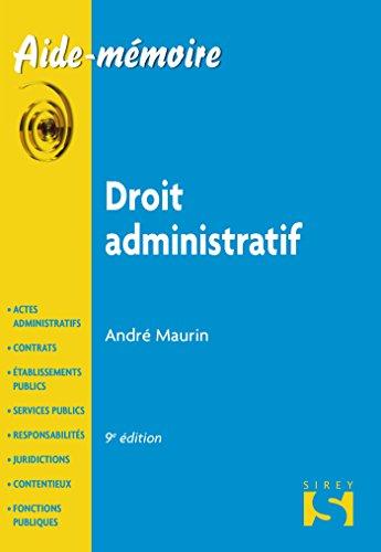 9782247136728: Droit administratif - 9e �d.