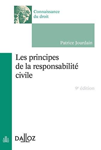 9782247136810: Les principes de la responsabilité civile - 9e éd. (Connaissance du droit)