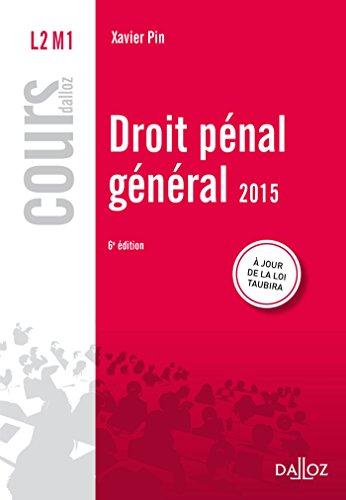 9782247136933: Droit pénal général 2015