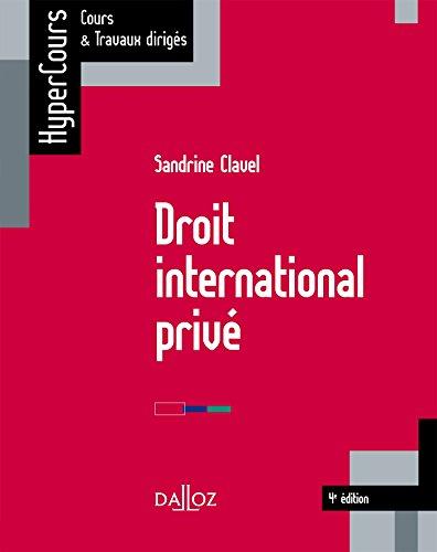 9782247137053: Droit international privé - 4e éd.
