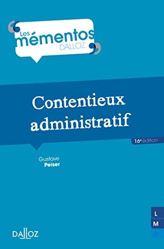 9782247137176: Contentieux administratif - 16e �d.