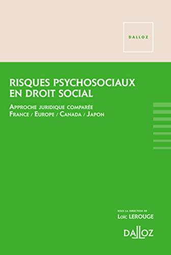 9782247137565: Risques psychosociaux en droit social - 1re �dition