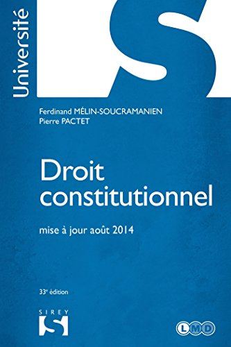 9782247137664: Droit constitutionnel - 33e éd.