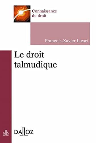 9782247151738: Le droit talmudique