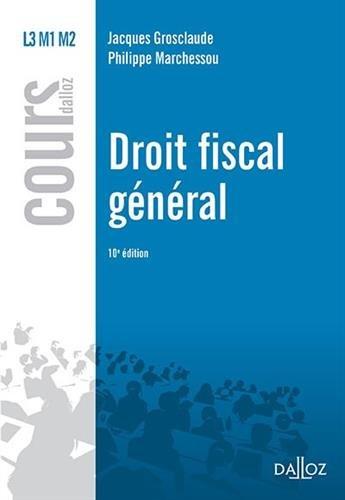 9782247151790: Droit fiscal général - 10e éd.