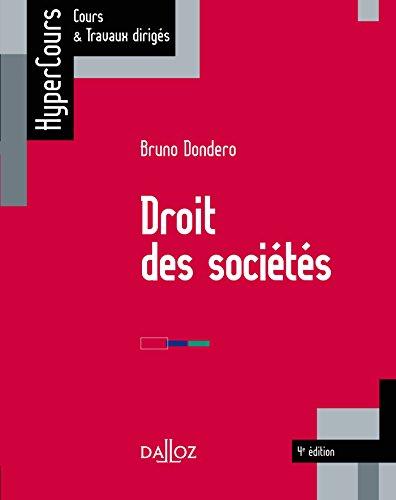 9782247152018: Droit des sociétés - 4e éd.