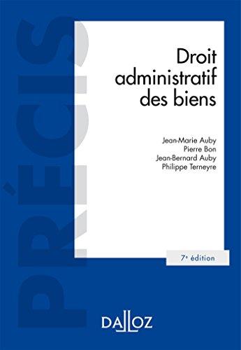 9782247152384: Droit administratif des biens - 7e éd. (Précis)