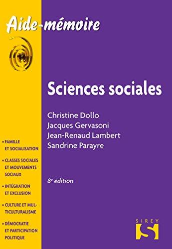 9782247152872: Sciences sociales - 1re édition