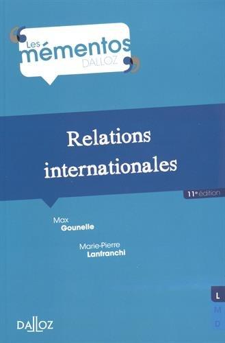 9782247153022: Relations internationales - 11e ed.
