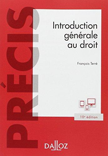 9782247153046: introduction générale au droit (10e édition)