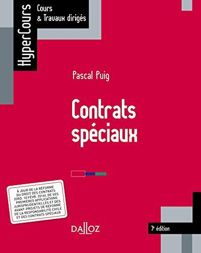 9782247169269: Contrats spéciaux - 7e éd.
