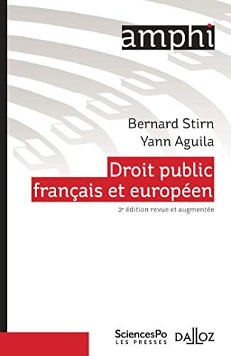 9782247169863: Droit public français et européen