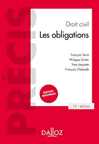 9782247170302: Droit civil Les obligations - 12e ed.