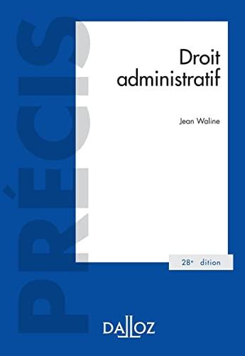 9782247199501: Droit administratif - 28e ed.