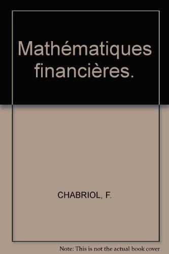 9782248020439: Mathématiques financières