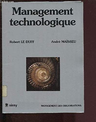 9782248020583: Management technologique
