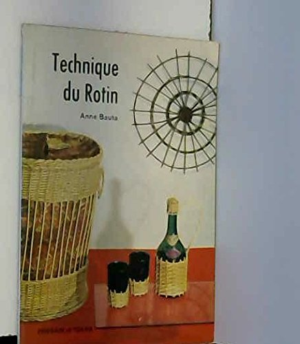 9782249220012: Technique du rotin