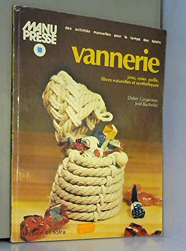 9782249225123: VANNERIE JONC OSIER PAILLE ...