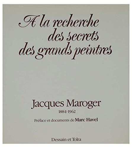 9782249250316: A la recherche des secrets des grands peintres (French Edition)