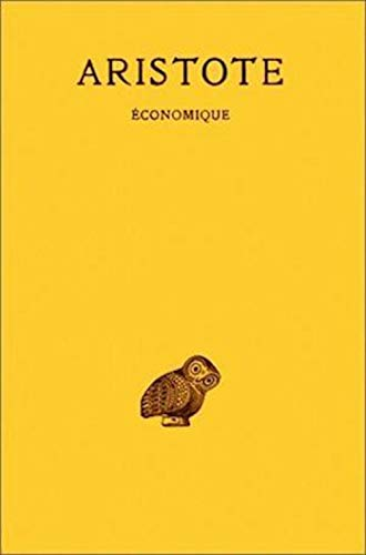 9782251000558: Économique (Collection Des Universites de France Serie Grecque) (French Edition)