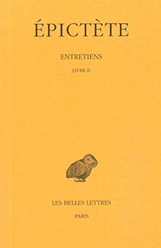 9782251001098: Entretiens, tome 2 : Livre II, 2e tirage