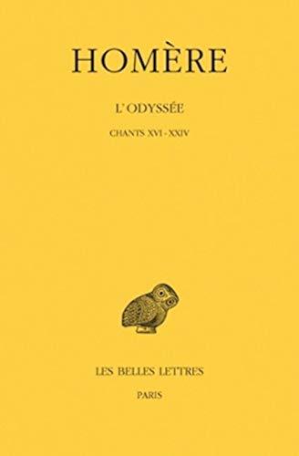 9782251001678: Odyssee T3 Chants XVI-XXIV (French and Greek Edition)
