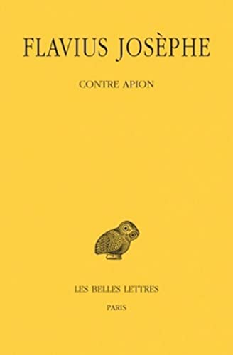 9782251001784: Contre Apion