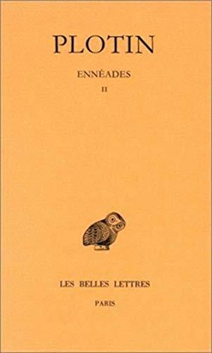 9782251002422: Ennéades, tome 2