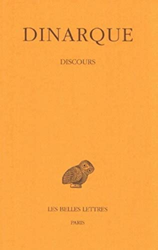9782251004150: Discours (Collection Des Universites De France Serie Grecque) (French Edition)