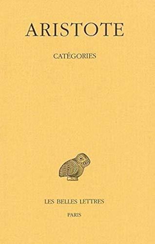 9782251004976: Aristote, Categories (Universités de France)