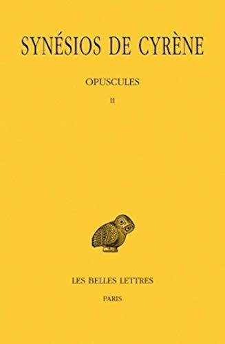 9782251005478: Tome V : Opuscules II (Collection Des Universites de France Serie Grecque) (French Edition)
