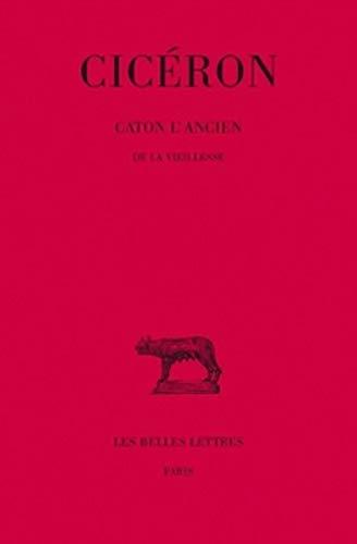 Ciceron, Caton l'Ancien. de la Vieillesse (Collection: Ciceron