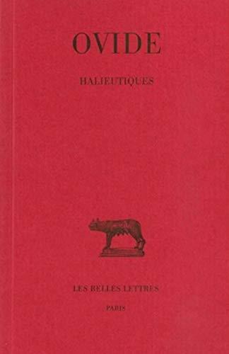9782251011295: Halieutiques (Collection Des Universites de France Serie Latine) (French Edition)