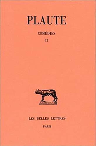 9782251011424: Comedies. tome II : bacchides - captivi - casina: 2 (Collection des Universités de France - Collection Budé)