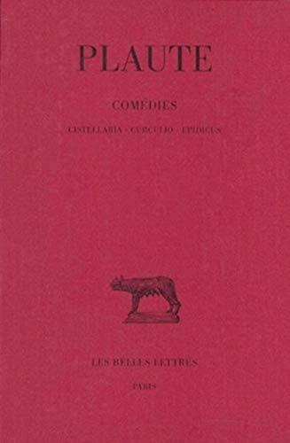 9782251011431: Th��tre, tome 3. Cistellaria - Curculio - Epidicus