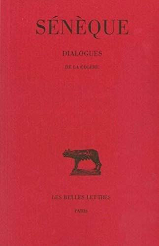 9782251012315: Dialogues, tome 1 : De la colère