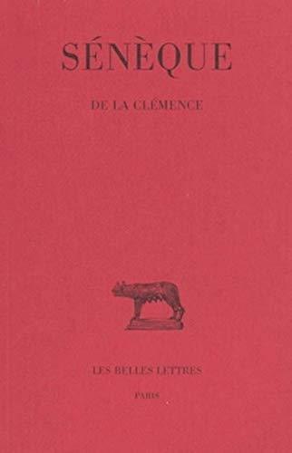 De la clemence: Seneque