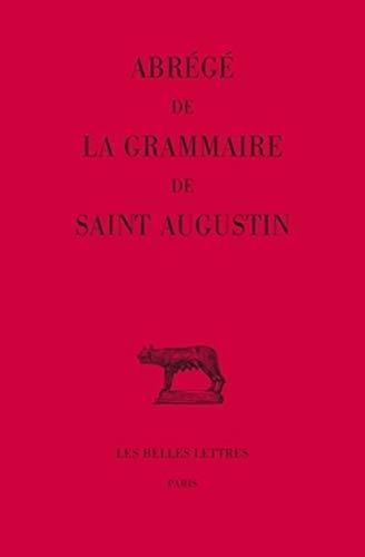 9782251014654: Abrege De La Grammaire De Saint Augustin: 405