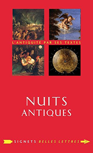 9782251030210: Nuits Antiques (Signets Belles Lettres) (French Edition)