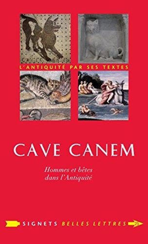 Cave canem: Poirier, Jean-Louis
