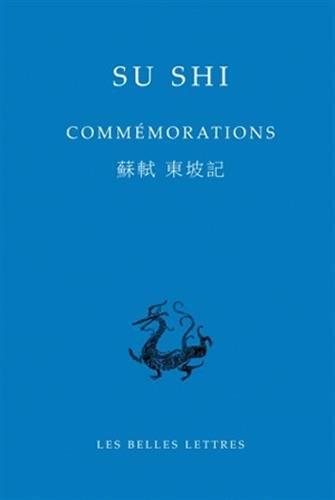 COMMEMORATIONS: SU SHI